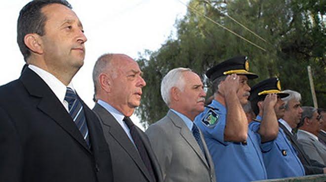 Celso Jaque, Juan Carlos Aguinaga y Carlos Rico