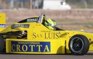 El mendocino Julián Santero ganó la carrera del sábado de la Fórmula Renault en Potrero de los Funes