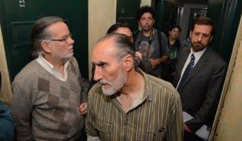 Testigos del Megajuicio recorrieron el D2, donde militares y policías torturaron presos con la venia de jueces y fiscales