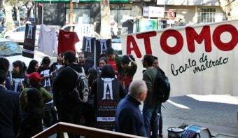 """Organizaciones sindicales, políticas y medios comunitarios rechazaron la """"persecución"""" de Átomo a delegados gremiales"""