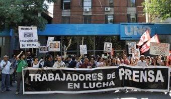 La Justicia de Garantías sobreseyó a trabajadores de Prensa y Gráficos procesados por protestar contra Vila y Manzano