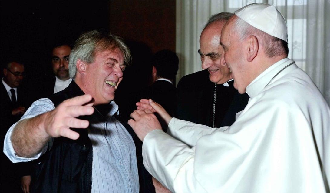 Gustavo Vera es uno de los interlocutores del Papa en el país.