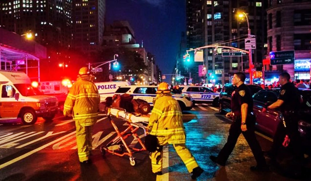 29 personas resultaron heridas en una explosión ocurrida en Nueva York.