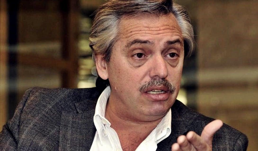 """Alberto Fernández: """"Tenemos una canciller que es muy mala,  que nos ha metido en bodrios increíbles"""""""