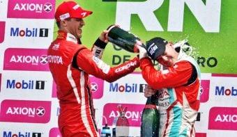 Berni Llaver subió al tercer escalón del podio del Súper TC2000 en General Roca