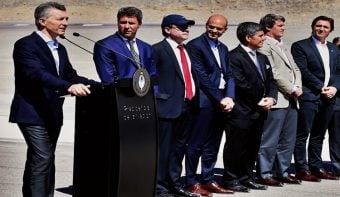 Macri obvió a las multinacionales mineras en la lista de favorecidos por la construcción del Túnel de Agua Negra
