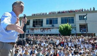 """Macri dijo que la exportación de granos """"nos va a permitir salir de la pobreza, generando trabajo de calidad"""""""
