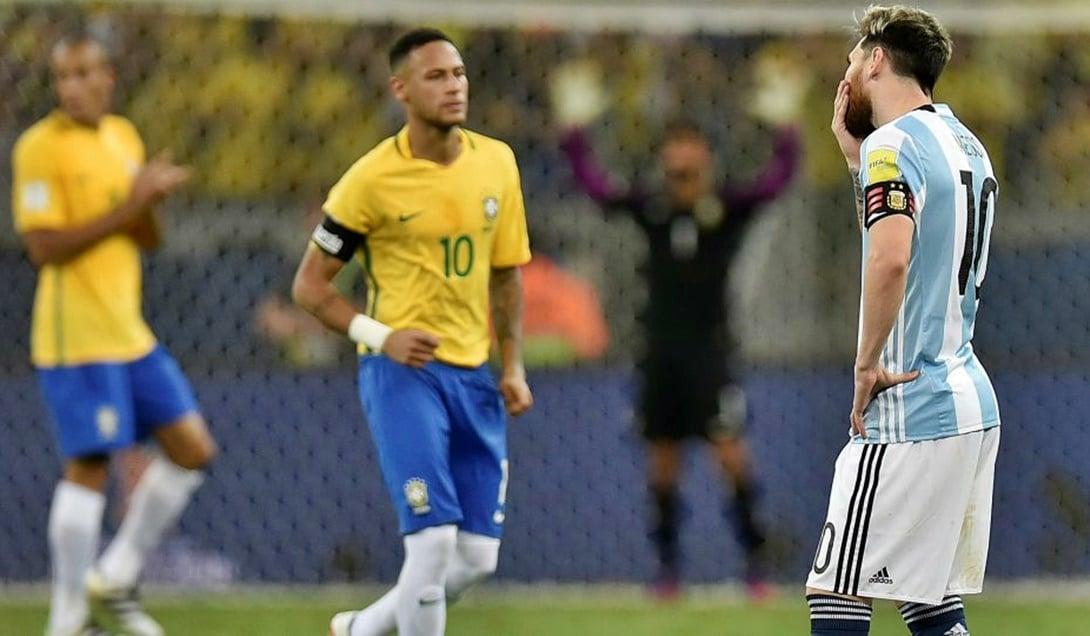 Brasil se hizo una fiesta con Argentina en Bello Horizonte: le ganó 3 a 0 y complicó el pasaje al Mundial