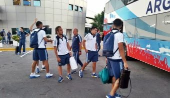 Viajó la Selección para jugar contra Brasil por las eliminatorias