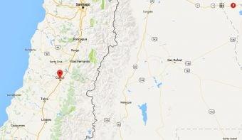 Se percibió en Mendoza un sismo de mayor intensidad con epicentro en la región central de Chile