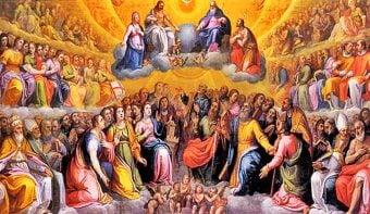 """El Día de """"los millones de justos que fueron sencillos fieles en la tierra y ahora están en el cielo"""""""